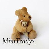 Miniatur Teddybären kleine Teddys