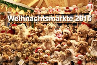 Weihnachtsmärkte 2015 Teddybäeren