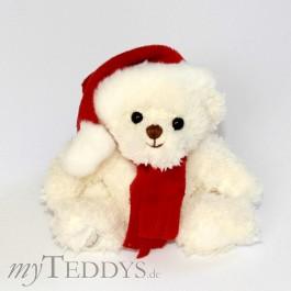 Baby Tomtenisse weiß Teddybär