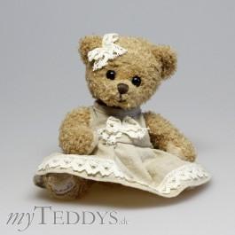 Ellen Teddybär mit braunem Kleid