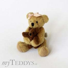 Eric med Lillebror Mini Teddybär