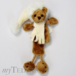 Eugen Bookmark Lesezeichen Teddy braun