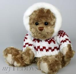 Lukas w/sweater Teddybär