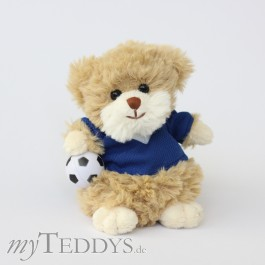 Barbara Bukowski Design Teddy Football Toni Blue