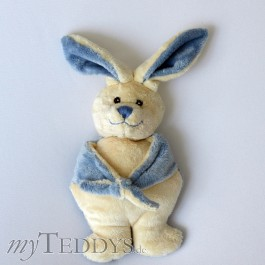 Frans squeeky toy Hase blau