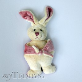 Frans squeeky toy Hase rosa
