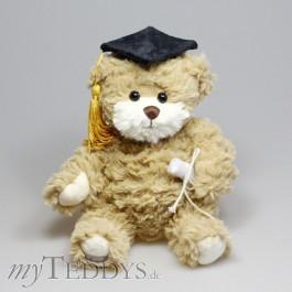 Graduate Teddybär-Diplom mit gelber Quaste