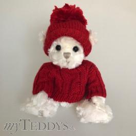 Paul Mauritz weiß Teddybär