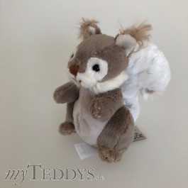 Squirrel Keyring Schlüsselanhänger Eichhörnchen grau