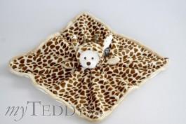 Schmusetuch Ziggy Wild Baby Rug Giraffe