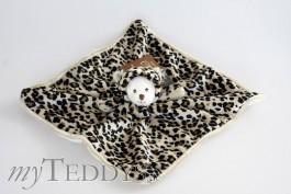 Schmusetuch Ziggy Wild Baby Rug Leopard