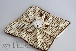 Schmusetuch Ziggy Wild Baby Rug Zebra