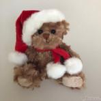 Baby Tomtenisse 2018 braun Teddybär