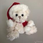 Baby Tomtenisse 2018 weiß Teddybär