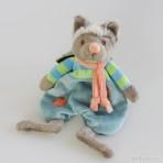 Cute Wolfy Baby Rug Babyspielzeug