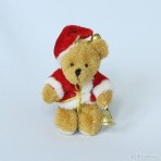 Nikolaus Teddy mit Glöckchen