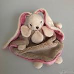 Schmusetuch Friends of  Viggo & Maria Baby Rug beige/rosa