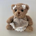 Antonia Teddybär mit Kleid