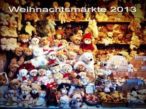 Weihnachtsmarkt 2013 Teddys
